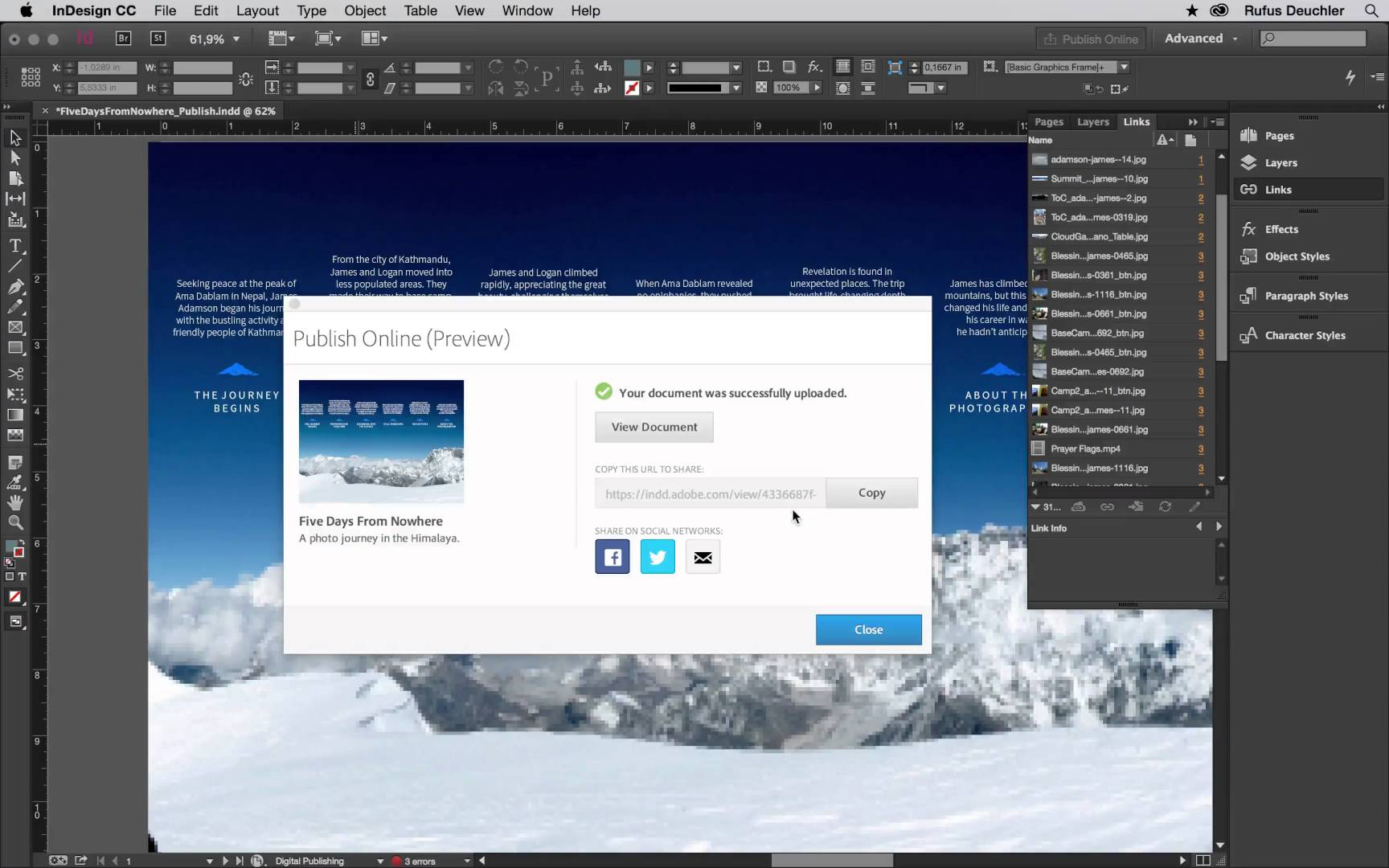 Adobe InDesign CC - Software profesional de diagramación y diseño de ...